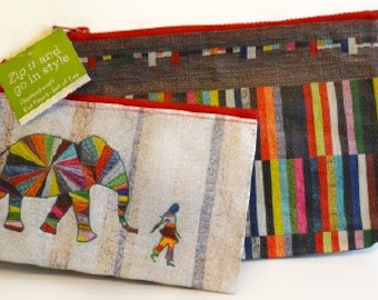 Elephant and I Eco Pouch - Set of 2