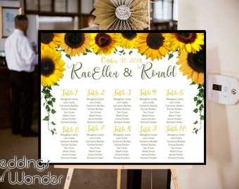 Sunny Days Sunflower - Seating Chart