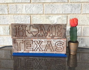 Texas Engraved Brick