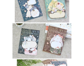 Blissful Animals Post IT Notes Sticky Memo