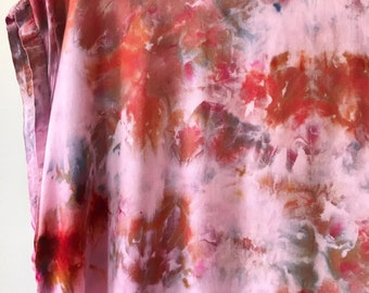 One of a Kind, Ready to Ship, Hand Dyed Tank Dress in Garden Path, Size Large,  Anna Joyce, Portland, OR