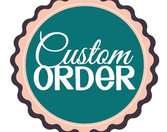 Custom Request Order for ANY Printed Material. Please Message before purchase.