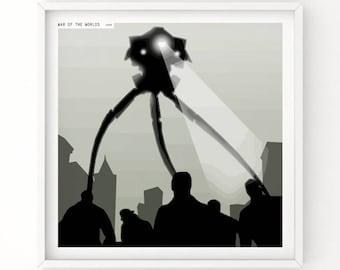War of the worlds alternative movie poster.
