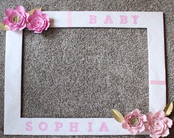 Paper Flower Photo Frame ...
