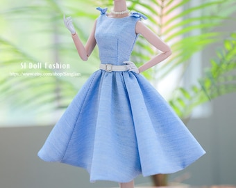 """vintage dress for Silkstone Barbie and pappy parker and more 12""""dolls by SL Doll Fashion"""