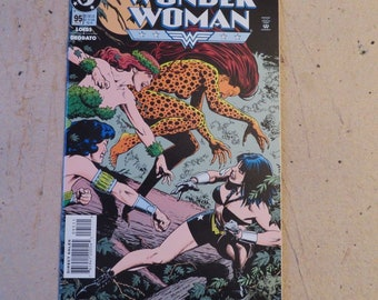 Wonder Woman 95 (1995), Cheetah cover, Poison Ivy, Joker, DC WX