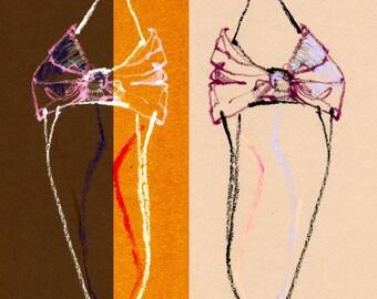 "Sophia Webster Slingback - 8"" x 10"" Print"