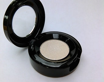 Porcelain ~Mineral Eyeshadow. Natural Pressed, Loose or Refill Palette Pan. Mica Eye Shadow