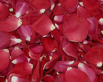 Falling In Love Rose Petals. 50 cups. Wedding Petals.Real Rose Petals.Proposal Petals. Preserved Freeze-dried Rose Petals. Wedding Confetti
