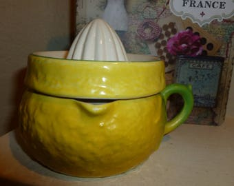 Vintage Ceramic Juice Reamer From England