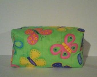 Make-up/ Toiletries bag Butterflies