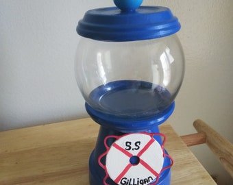 Personalized Life Preserver Candy Jar