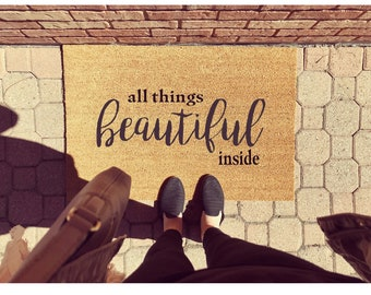 All things beautiful inside