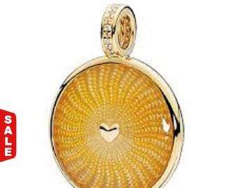 Sale -  Authentic Pandora SHINE Rays of Sunshine Pendant Charm #367118EN158