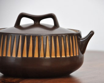Danish Modern Geometric Casserole Serving Dish
