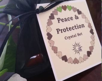 Crystal Set: Peace & Protection