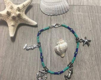 Nautical Charm Bracelet