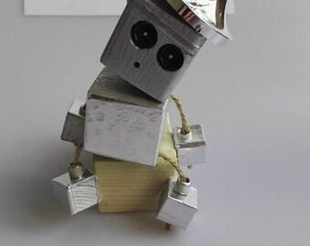 Tin Man Koob wooden robot figure