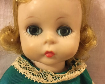 Vintage 1950's Madame Alexander Wendy doll with extras