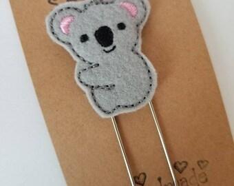 Koala Jumbo Bookmark - XL - Planner Clip - Planner Accessory- Small Gift