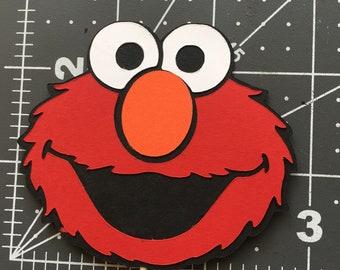 Elmo Cupcake Topper