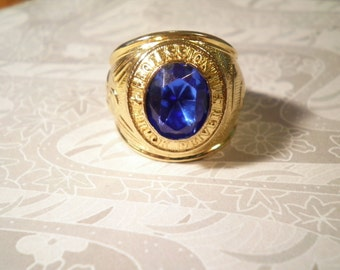 1 Goldplated Professional Truck Drivers Ring