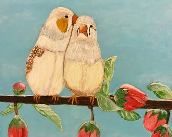 Cute little birdies #8 - 6 x 6