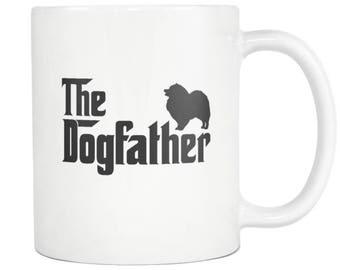 Keeshonden tasse, cadeau de Keeshonden, chien père thé café tasse