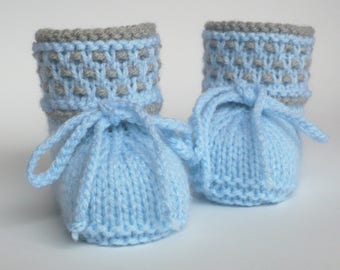 Baby shoes knit Knitted Baby shoes Booties