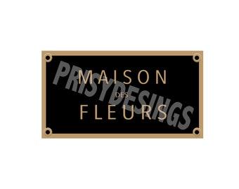 Maison Des Fleurs Black logo