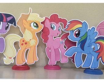 My Little Pony Birthday | My Little Pony Party | My Little Pony Party Centerpieces | My Little Pony Decorations | My Little Pony Centerpiece