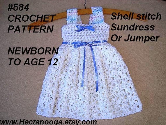 CROCHET PATTERN crochet Baby Dress patterns for kids