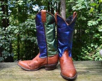 Western, Boot, Size 5.5 ~ Tony Lama Soft Vintage Leather Cowboy Dance Boot
