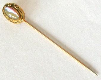 Antique Edwardian dragon's breath stick pin
