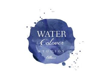 premade logo, custom logo, watercolor logo,  brand design, business logo, logo design, feminine logo, new logo. No. 5