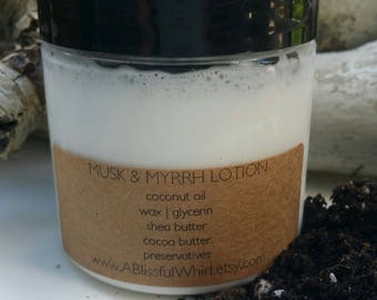 Musk and Myrrh Whipped Body Lotion