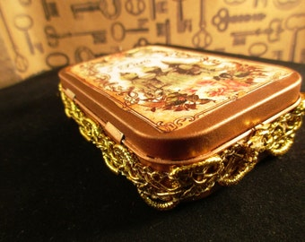 Paris Tin Keepsake Box