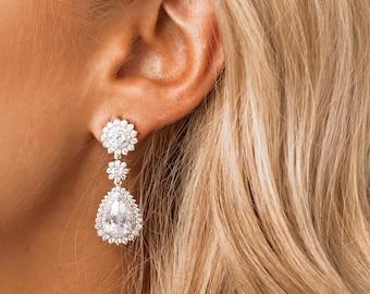 Bridal Earrings, Wedding Earrings, Bridal Jewellery, Wedding Jewellery, Bridesmaid Earrings, Bridal Jewelry, Wedding Jewelry
