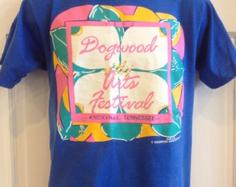 Rare Vintage 1992 Dogwood Arts Festival Knoxville, Tennessee t-shirt