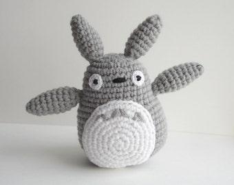 My neighbor totoro beanie hat crochet pattern from doriyumi on etsy my neighbor totoro pattern crochet pdf dt1010fo