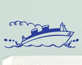 ship wall decal ship wall decor ship wall art ship wall stickers pirate ship wall decal pirate ship wall stickers (Z768)