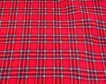 Dog pyjamas, Fleece suit. four legged jumper, onesie, Royal Stewart Tartan (red tartan)