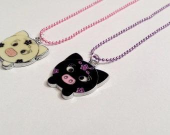 Sale! Pig Piglet Necklace