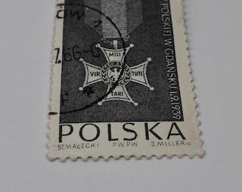 Postage Stamp Post Mark Vintage Military