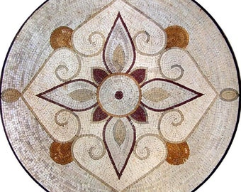 Floral Medallion Art - Gadina