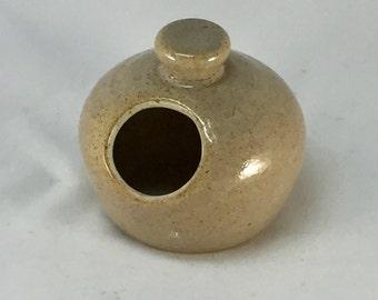 Pottery, Salt Pig, Salt Cellar, Ceramic Salt Keeper