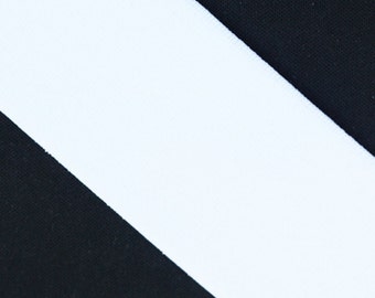 """White Elastic banding, 3"""" wide, goes great with any ruffle fabric color, 1 yd total -more in stock"""