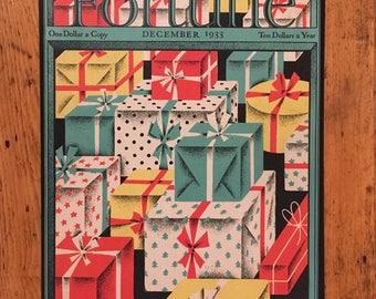 Fortune Magazine cover December 1933