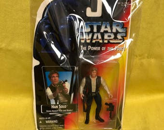 Starwars Han Solo Kenner Action Figure