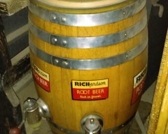 Richardson Root Beer Barrel Dispenser